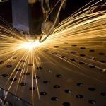 Corte a laser de chapas metálicas
